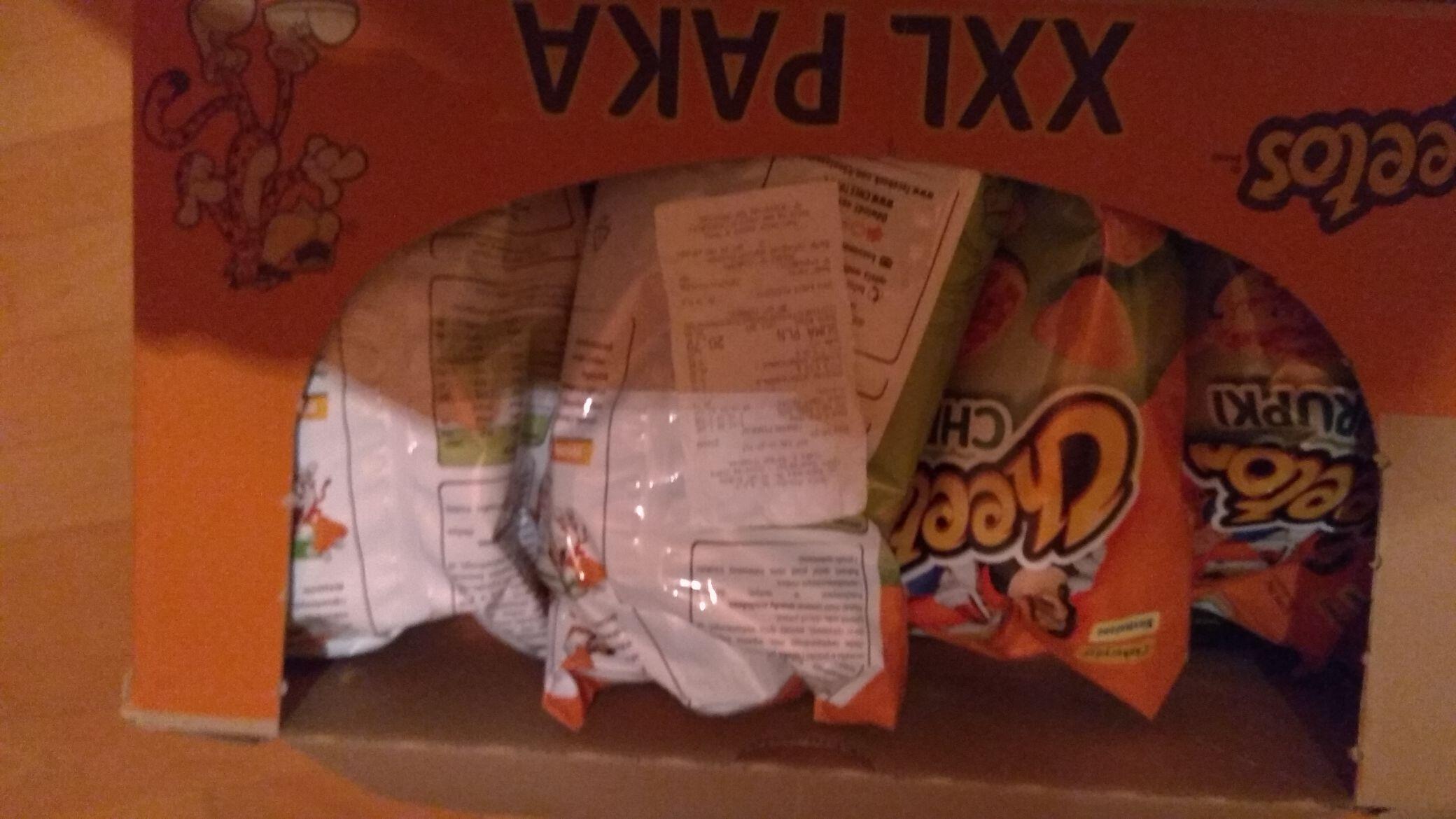 Cheetosy za 1,07 zł i orzeszki w Tesco