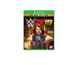 X-Kom WWE 2K19 Deluxe Edition Xbox One Playstation 4.