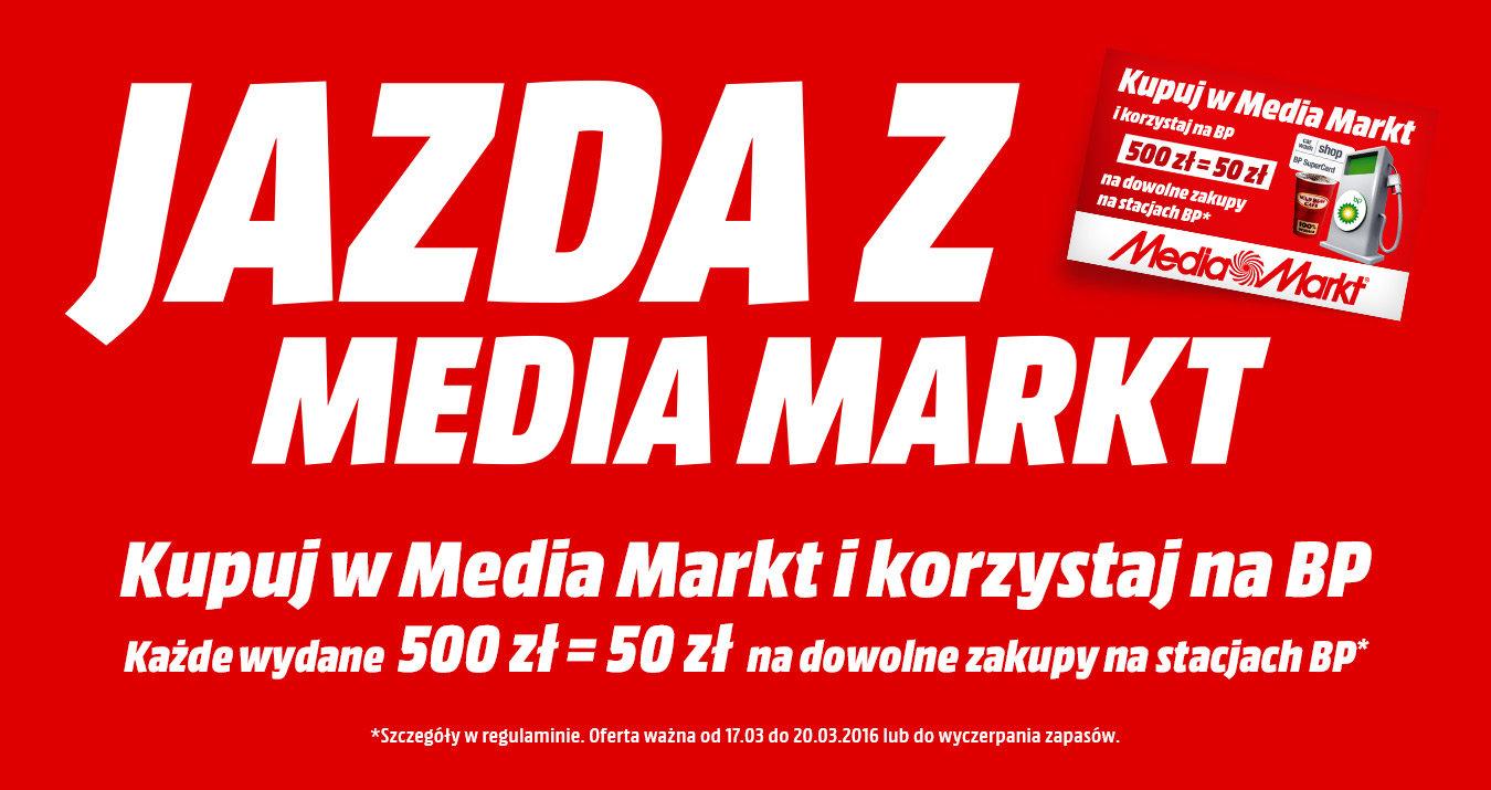 Karta BP 50PLN za zakupy w sieci Media Markt