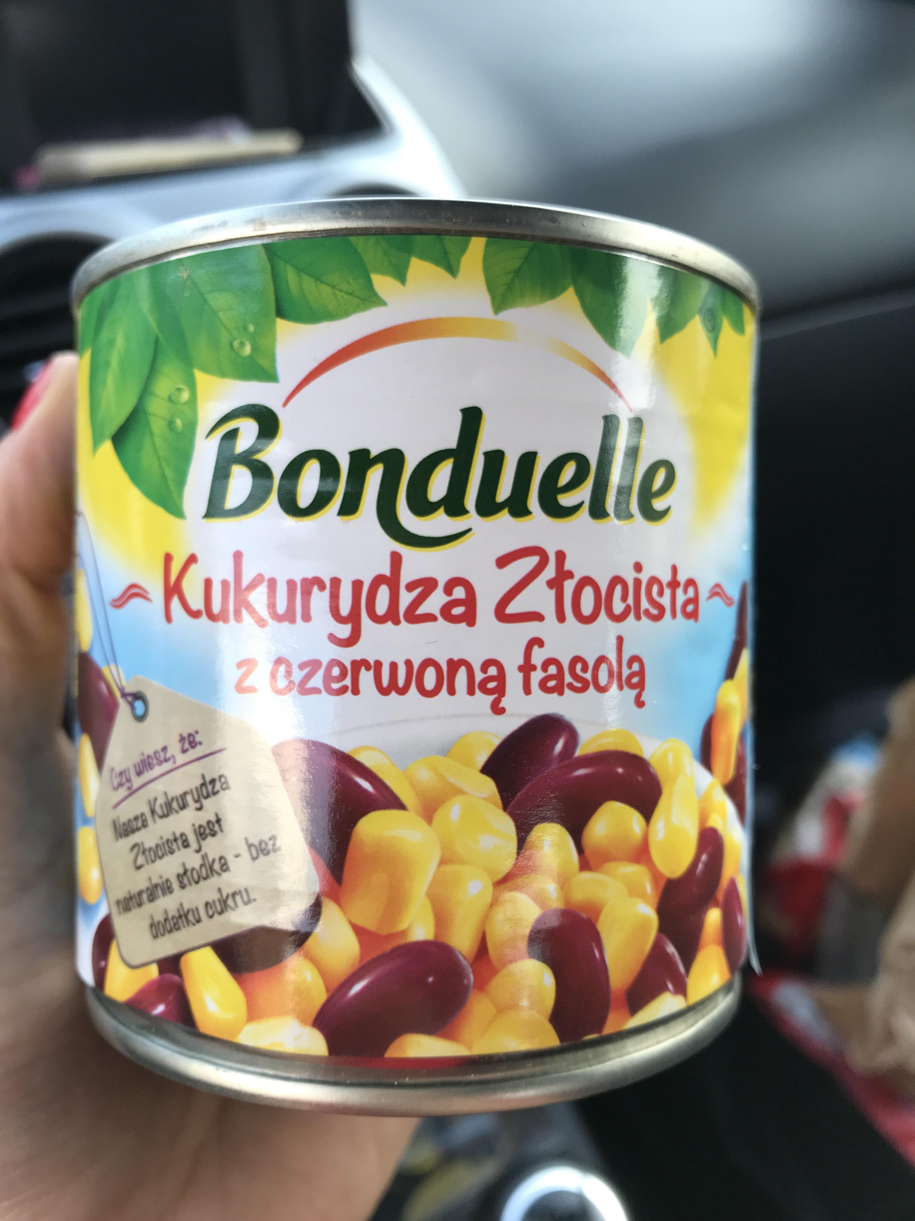 Biedronka Kukurydza złocista z czerwoną fasolą Bonduelle