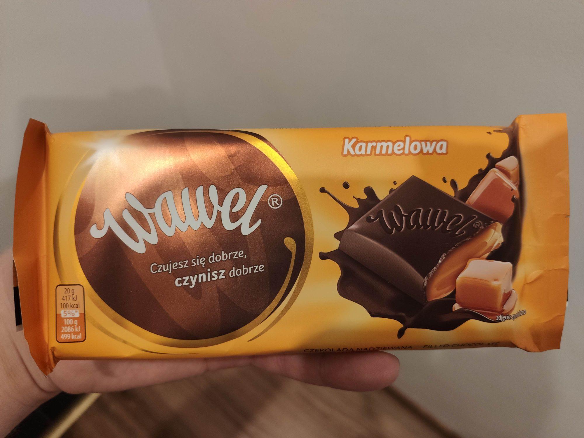 Czekolada Wawel Karmelowa 100g - Błąd Cenowy Tesco Extra (Hipermarket)
