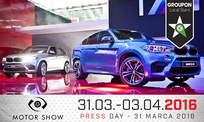 50% rabatu na wejściówki na targi Poznań Motor Show (31.03-3.04) @ Groupon