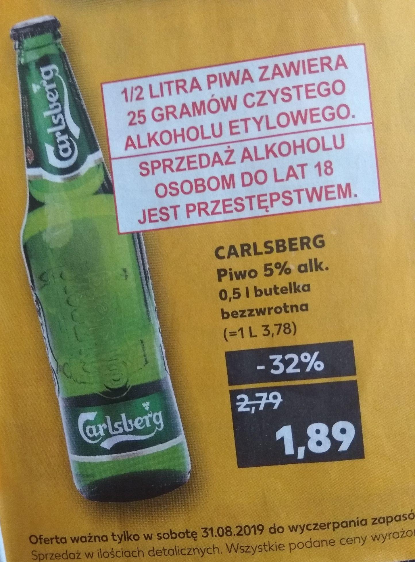 Piwo Carlsberg - Kaufland Łódź