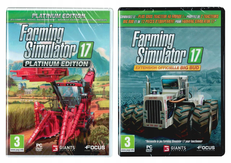 Farming Simulator 17 Platinum + Dodatek BIG BUD