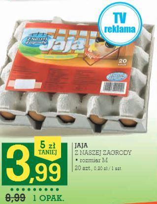 tanie jaja na święta w Intermarche i Kaufland