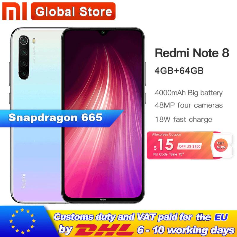 Redmi Note 8 - PRESELL - 182 USD na ALIEX