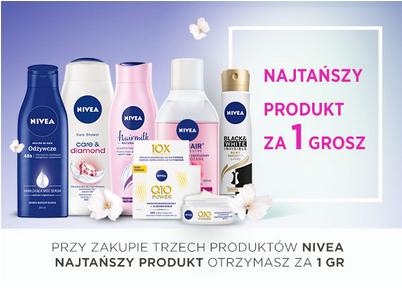 2+1 na produkty Nivea @ Natura