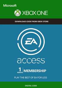 EA Access - 1 Month Subscription Xbox One