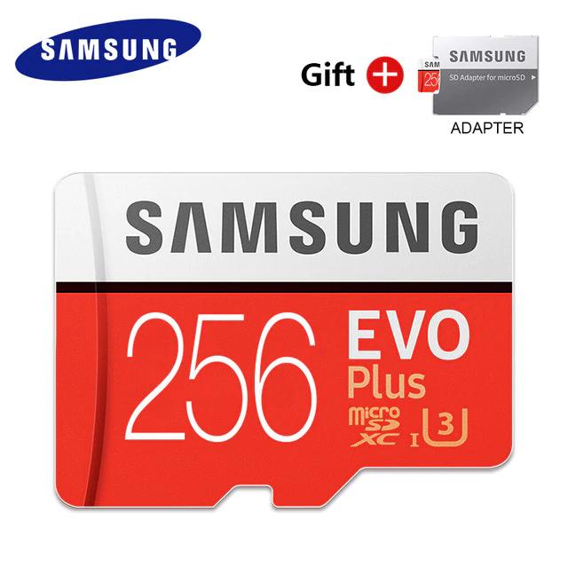 Karta MicroSD Samsung EVO Plus 256GB UHS-3 za 17,88$ , możliwe 15,88$ (62,25zł) z kodem lub kuponem 2/10$ z wymiany za monety