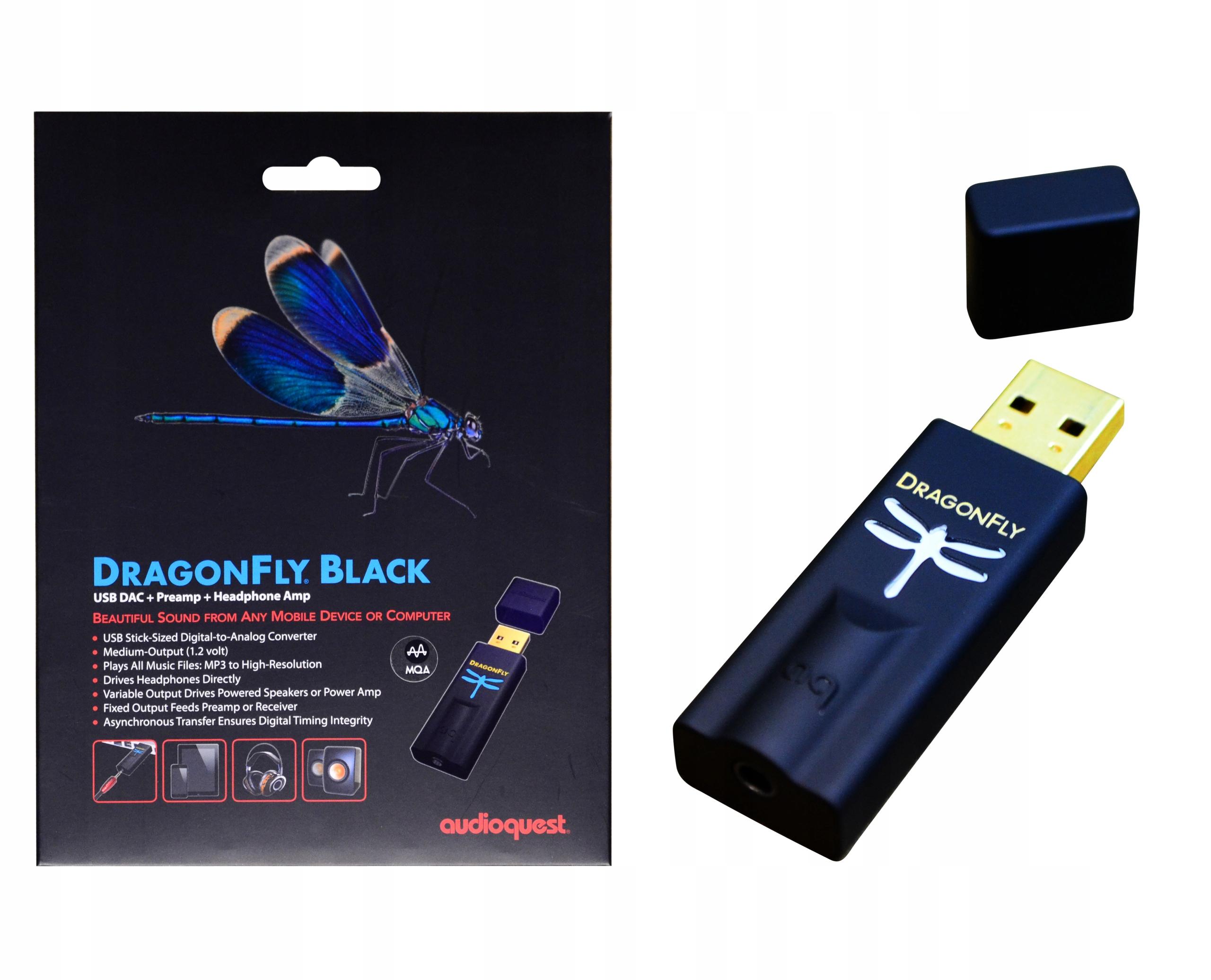 Audioquest Dragonfly Black + Tidal
