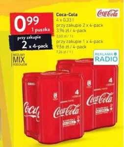 Coca-Cola 330 ml (2 x 4-pack) Intermarche