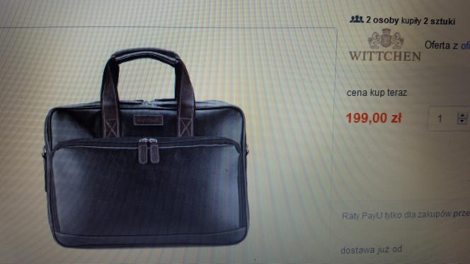 torba na laptop wittchen -50%