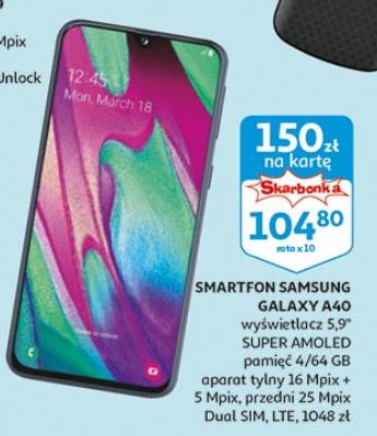 Samsung Galaxy a40 możliwe 868zł