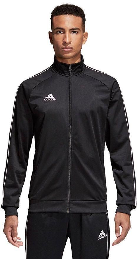 Adidas Bluza męska CORE 18 PES JKT czarna r. M i L