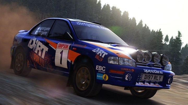 DiRT Rally na Steama za darmo