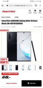 Samsung Note 10/Note 10+ PL dystrybucja.