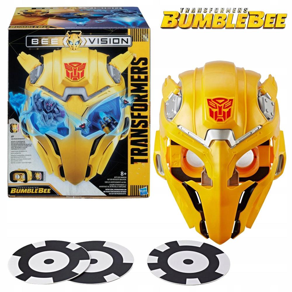 Maska Transformers MV6 Bee Vision Bumblebee AR Experience E0707, odbiór 0 zł