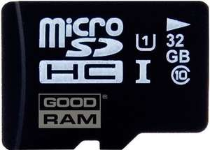 Karta micro Secure Digital High-Capacity (microSDHC) GOODRAM MicroSDHC 32GB Class 10 UHS-I z Carrefour.pl