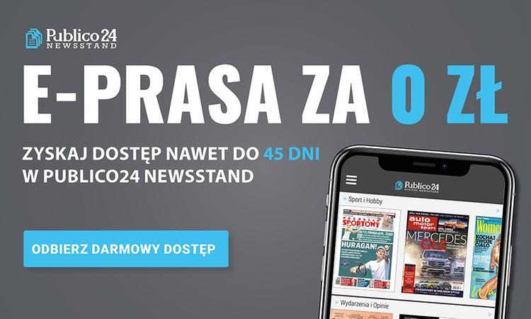 Darmowa, nielimitowana e-prasa przez 15 lub 45 dni @Publico24