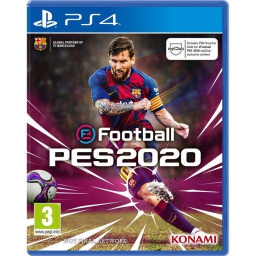 Preorder eFootball PES 2020 za 169 zł (177zł z wysyłką) na PS4 i XBOX ONE