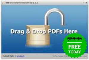 PDF Password Remover 1.5 za darmo
