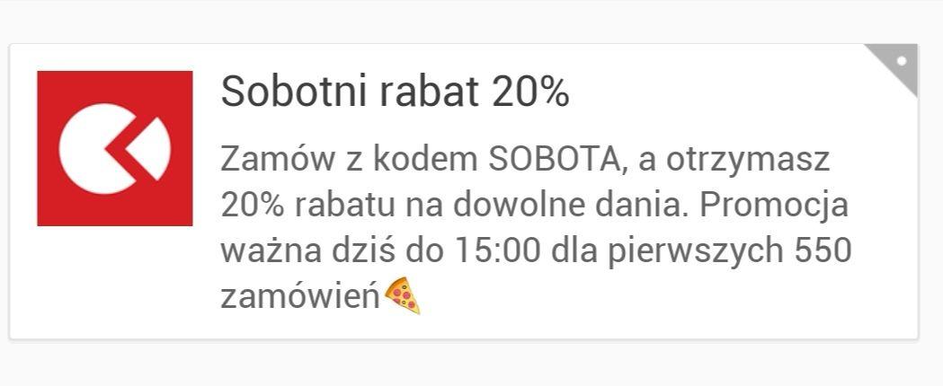 Pizza portal -20%