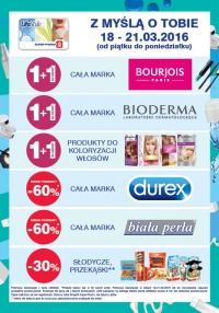 Drugi produkt za 1gr (Bourjois, Bioderma, produkty do koloryzacji włosów) oraz rabaty 30% i 60% @ Super-Pharm (LifeStyle)