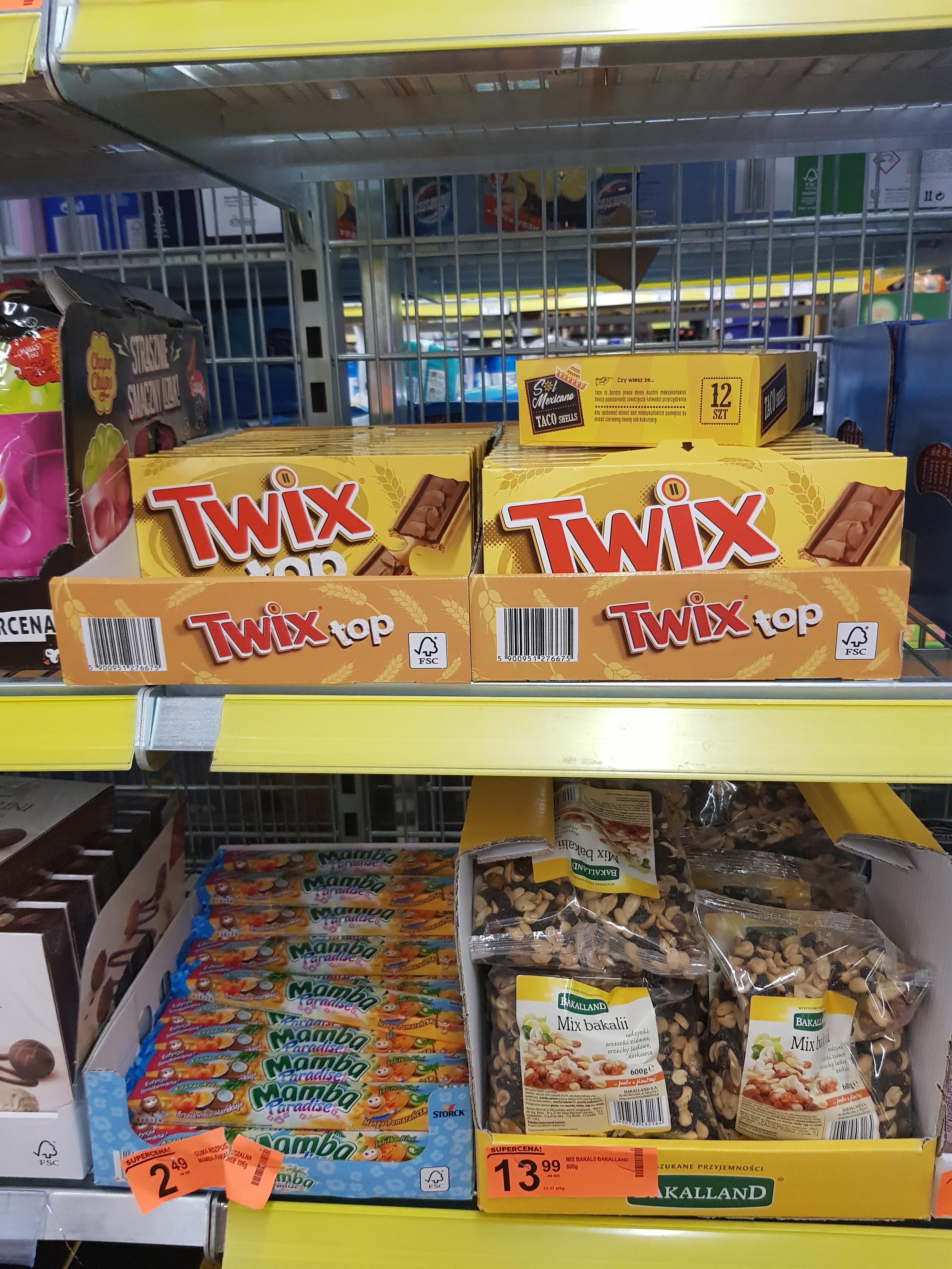 Twix błąd cenowy biedronka- gdańsk żabianka