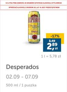 Desperados 500ml w Lidl Plus