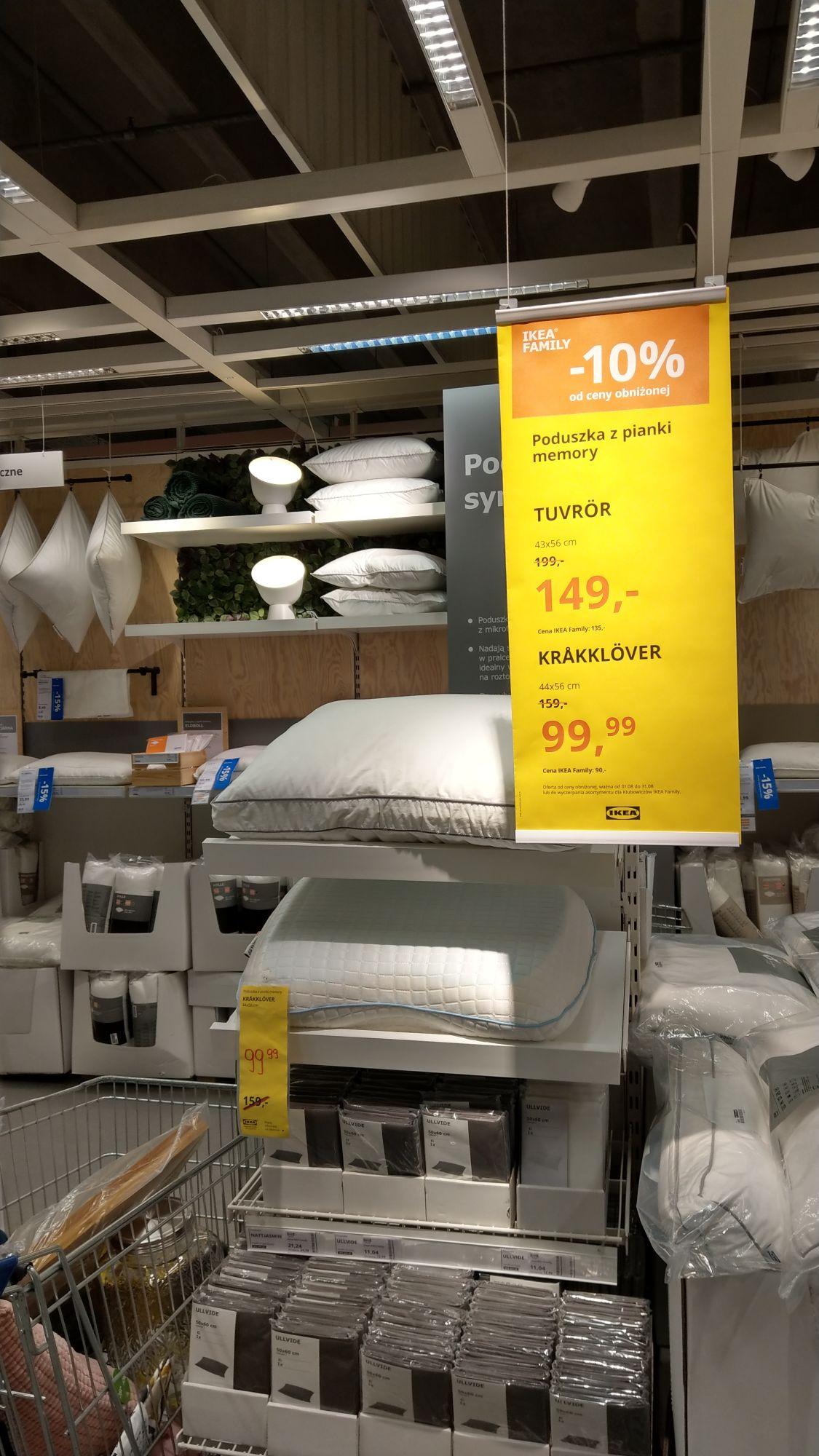 Poduszki z pianki memory Koniec Serii - IKEA Katowice