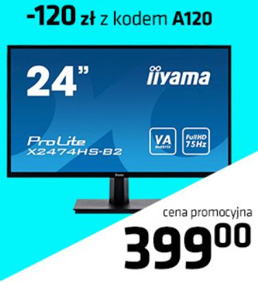 Monitor IIYAMA X2474HS-B2 z alsen.pl