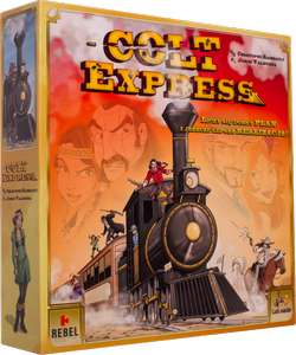 Colt Express - Gra Planszowa - Spiel Des Jahres 2015!