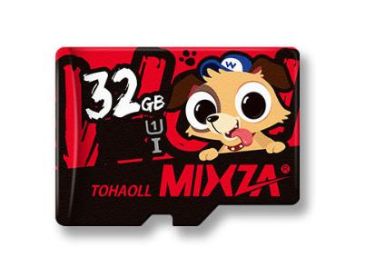 Karta pamięci mixza 32gb + organizer na karty