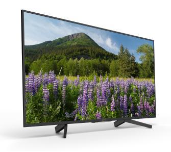 """Sony TV KD-55XF7096 4K 55"""" + 100zl na karcie"""
