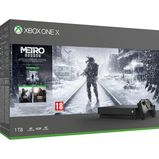 XBOX One X + Metro Saga