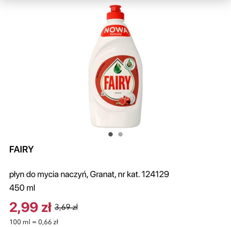 Płyn do naczyń Fairy [Rossmann]
