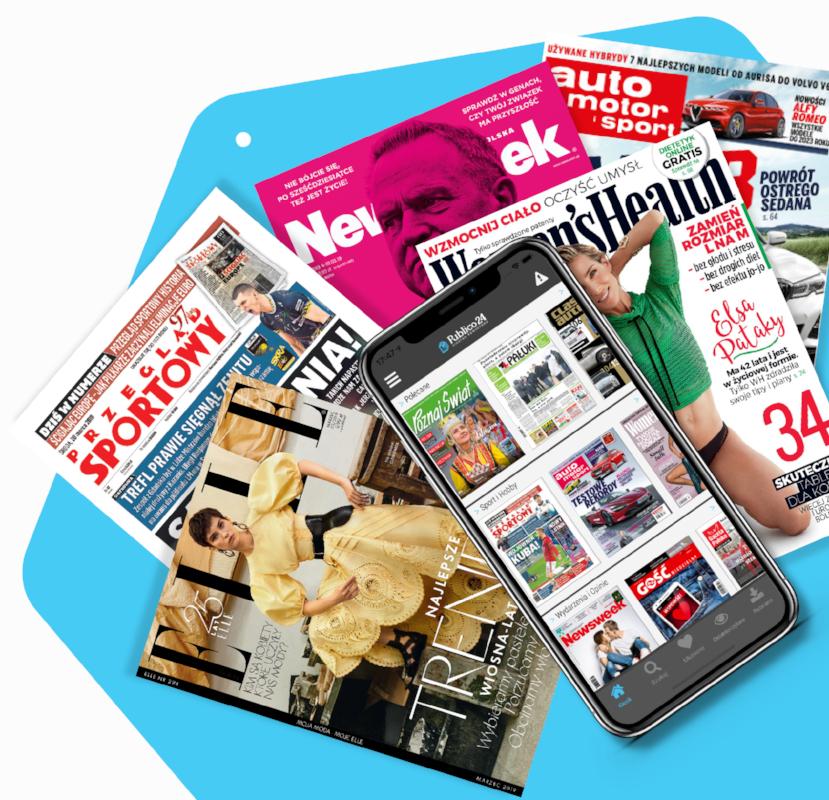 Publico24, darmowe 7 dni + dodatkowe 30 dni. Wirtualny kiosk. Dostęp do czasopism za darmo