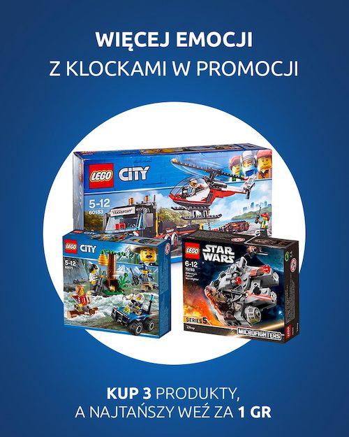 Klocki LEGO 2 + 1 w Carrefour