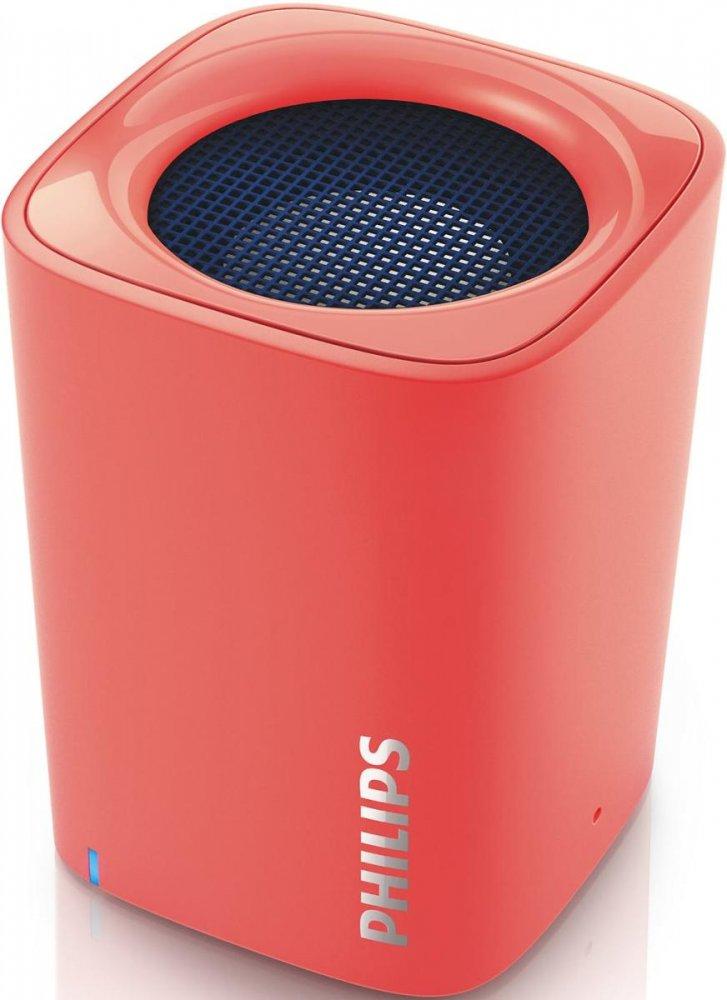 Przenośny głośnik Philips BT100 za 75zł (czerwony) @ Mall