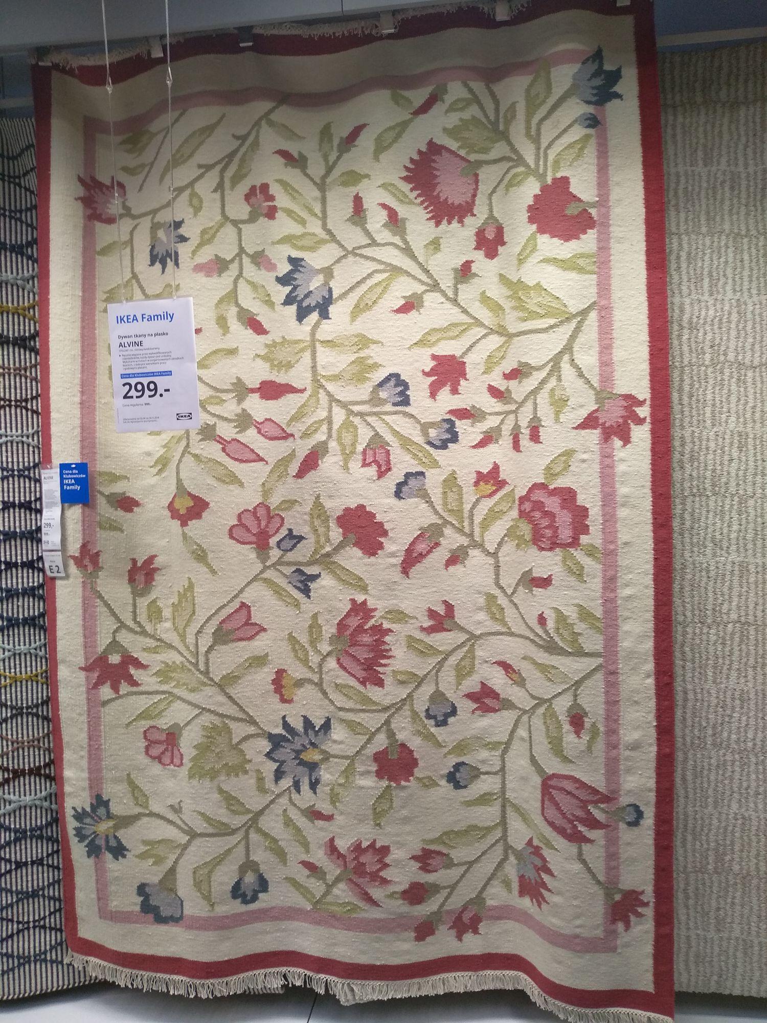 IKEA dywan Alvine wym. 170x240cm