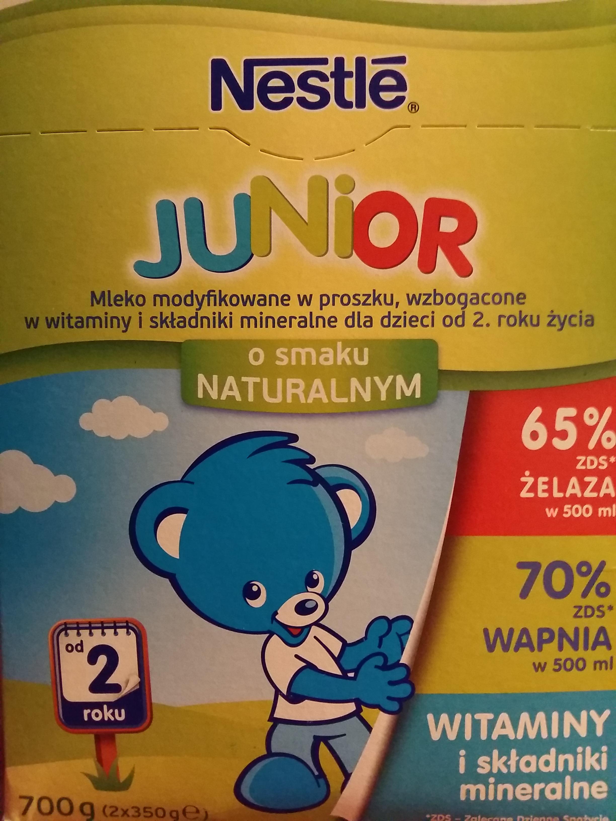 Mleko Nestlé Junior od 2 roku 700 g Rossmann