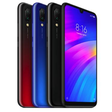 """Smartfon Xiaomi Redmi 7 Global (6,26"""", Snapdragon 632, 3GB RAM) czarny i niebieski @ Banggood"""
