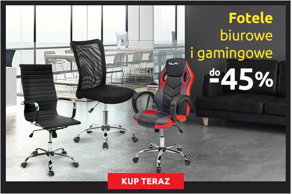 Fotele biurowe i gamingowe do -45% - Carrefour
