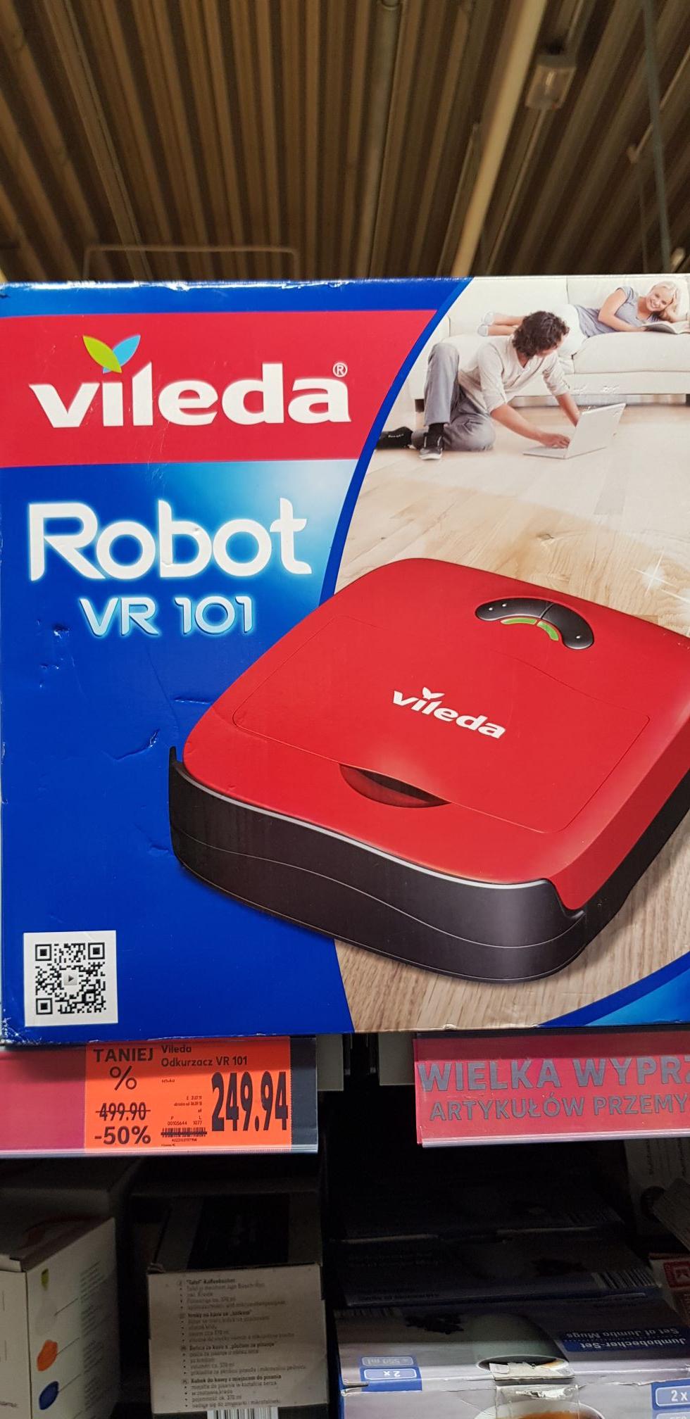 Odkurzacz Vileda VR 101 Kaufland