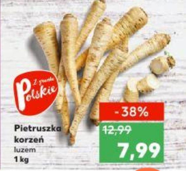Pietruszka 7,99 zł/kg - Kaufland