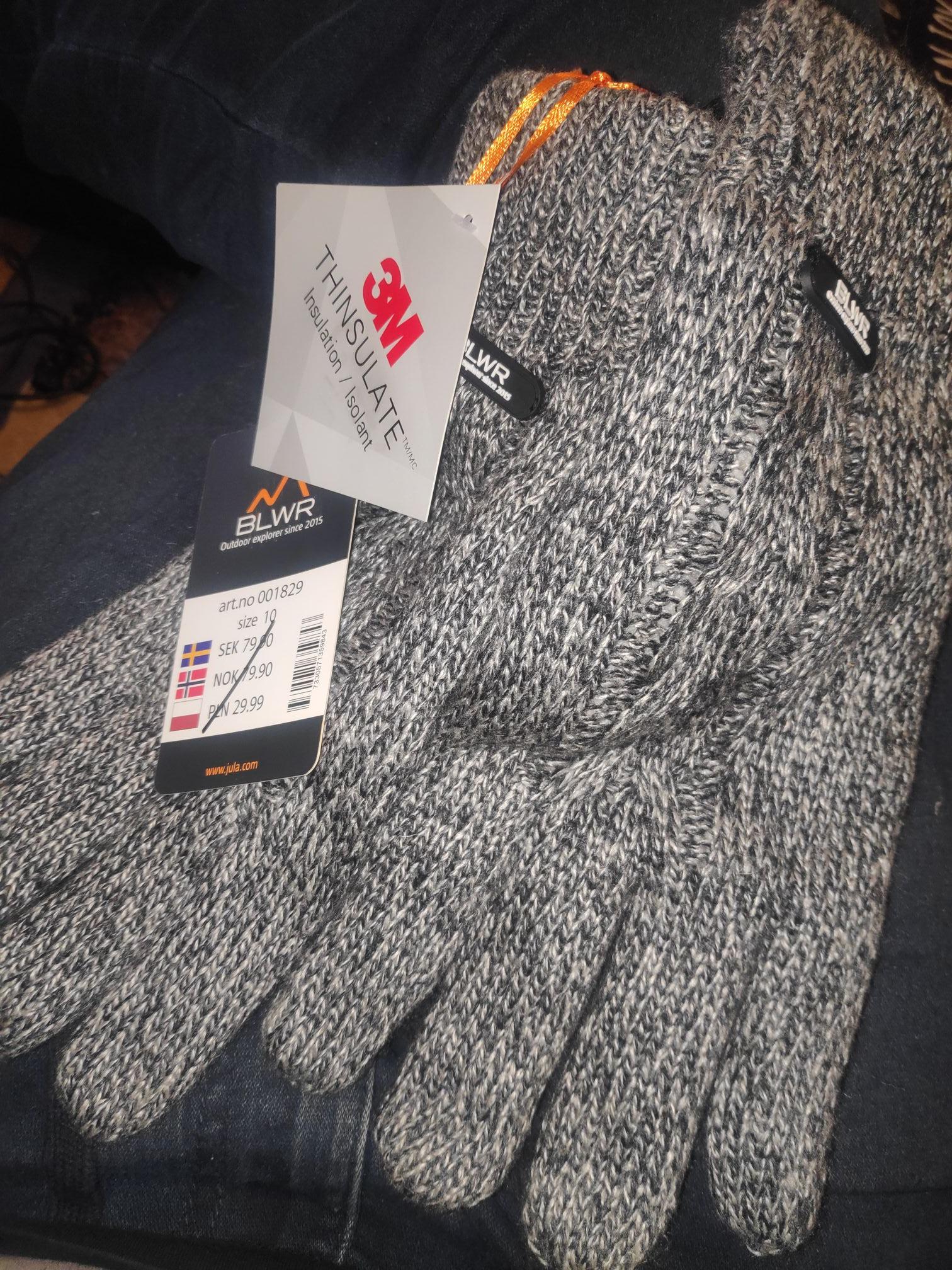 Rękawiczki zimowe BLWR 3M Jula