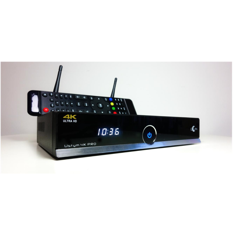 Uclan Ustym 4K tuner TV sat, cab dvbt