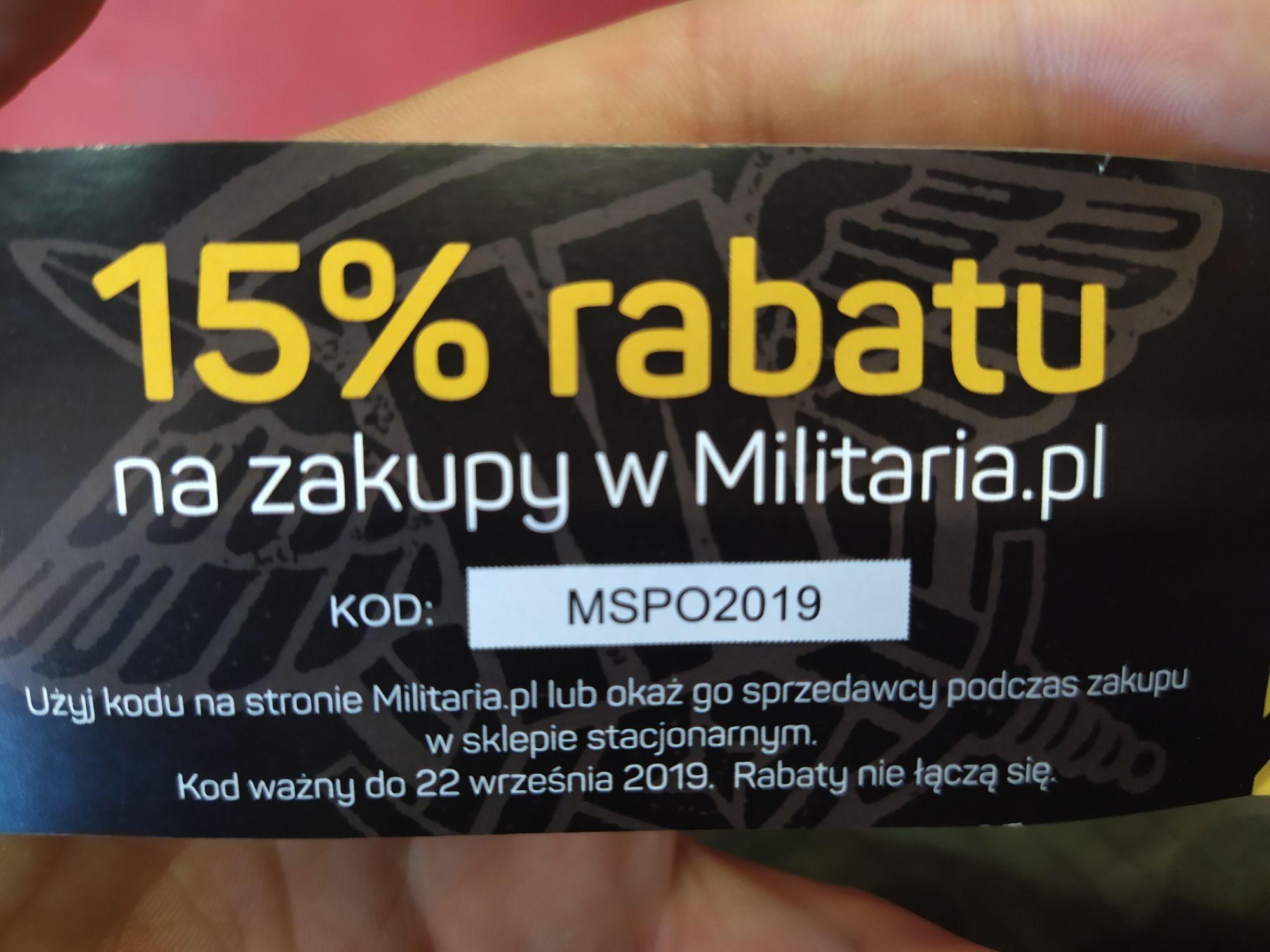 Militaria.pl -15%