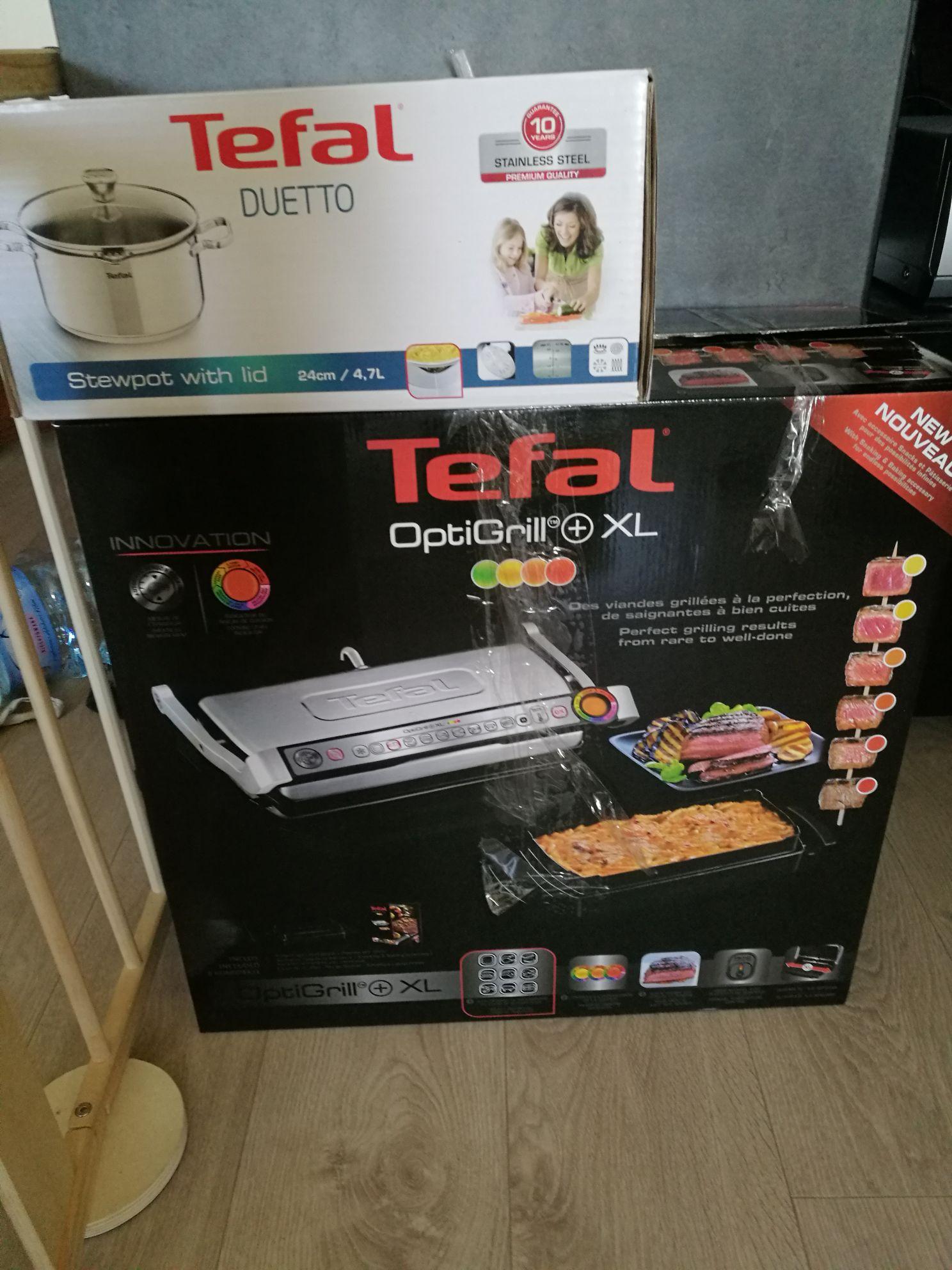 Tefal Optigrill+ XL z formą i rabatem 100 zł na inne produkty.