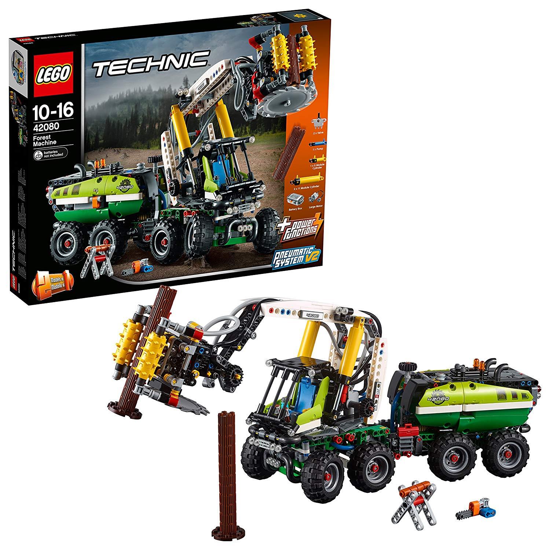 LEGO TECHNIC Maszyna leśna 42080 @ amazon UK